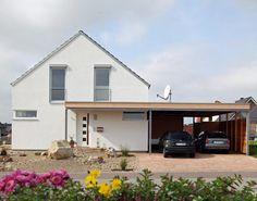 Build a flat roof carport - Pergola Ideas Patio Pergola, Pergola Carport, Wood Pergola, Deck With Pergola, Pergola Plans, Backyard, Pergola Ideas, Covered Pergola, Pergola Kits