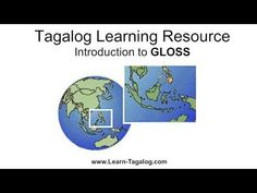 Using GLOSS as a Tagalog Language Learning Resource - YouTube
