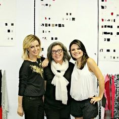 Mais uma da nossa tarde de risadas e trabalho com a Sophia Alckmin e a Cris Tamer na criação da Fillity. Adoramos!!!!!  #fillity #fillity25anos #inverno2014fillity