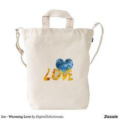 Ice - Warming Love Duck Canvas Bag