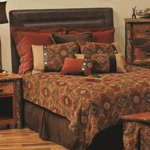 "Wooded River ""Mesa Pottery"" Premium Rustic Bedding Set"