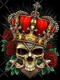 Cross Hatching, Occult Art, Ink Art, Satan, Skull, Symbols, Drawings, Illustration, Artwork