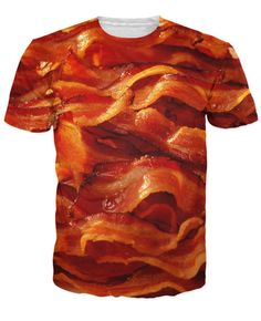 1d7de4c82d28 Sizzling Bacon T Shirt Men Women Bacon Breakfast