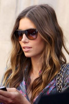 Brown Balayage Hair | 2014 Medium Hairstyles Ideas