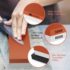 best knife sharpening stone bearmoo sharpening Sharpening Stone, Knife Sharpening, Best Knife Sharpener, Digital Kitchen Scales, Woodworking Jigs, Kitchen Knives, Grits, Photo Link, Knifes