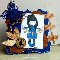 Blue Barn Creatief: Gorjuss kaartje