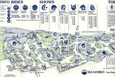 Seaworld San Diego Map Pdf.211 Best Amusement Park Maps Images Theme Park Map Maps Blue Prints