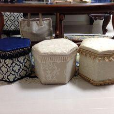 Ottoman, Chair, How To Make, Furniture, Home Decor, Decoration Home, Room Decor, Home Furnishings, Stool