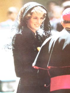 April Princess Diana meets privately with Pope John Paul II at the Vatican, Rome. Kate And Meghan, Princes Diana, Pope John Paul Ii, Romance, Lady Diana Spencer, Westminster Abbey, Royal Weddings, English Roses, Princess Of Wales