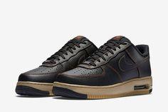 Sneakers Nike : The Nike Air Force 1 Elite Low Bulks Up for Winter… Air Force 1, Nike Air Force, Air Force Shoes, Nike Air Max, Tan Sneakers, Sneakers Fashion, Sneakers Design, Nike Free Runs, Nike Shoes Outlet