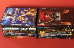 DVD Mixed Lot of 14 Superhero Comic Book Action Movies Animated and Live Action