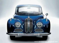 BMW 501 (1952) Bmw Classic, Classic Motors, Bmw Cars, Retro Cars, Collector Cars, Sexy Cars, Concept Cars, Cool Sports Cars, Sport Cars