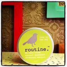 Routine de-odor-cream - BEST natural deodorant, made in Calgary AB #shoplocal