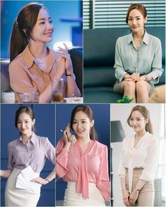 Park Min Young as Kim Mi So in What's wrong with Secretary Kim? K Drama Park Min Young, Office Fashion, Business Fashion, Work Fashion, Office Outfits Women, Everyday Outfits, Work Outfits, Secretary Outfits, Corporate Attire