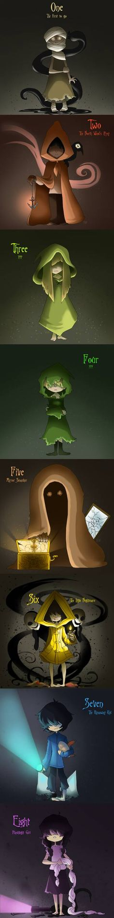 Children of the Maw by HezuNeutral on DeviantArt Little Nightmares Fanart, Scary, Creepy, The Hanged Man, Otaku, Rpg Horror Games, Arte Horror, Video Game Art, Indie Games