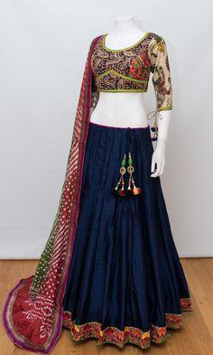 Shop Chaniya choli - handmade chaniya choli , ghaghra choli at afordable price Dress Indian Style, Indian Fashion Dresses, Indian Gowns, Indian Designer Outfits, Indian Outfits, Designer Dresses, Indian Wear, Fashion Outfits, Lehenga Designs Simple