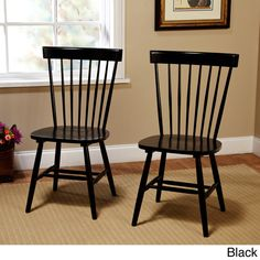 *similar* Formal Dining Chairs $137/Pair!! Simple Living Venice Dining Chairs (Set of 2)
