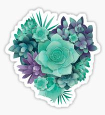 Succulent Love I Sticker