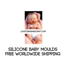 Baby mould, baby MOLD, polymer baby, fairy mould, fairy mould, polymer clay, lovetobakeandcraft.com