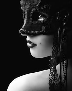 masks allow us to be ourselves in a world that has so many grey areas but is seen in black and white