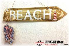 Susanne Rose - Papierkleckse: Way to the Beach