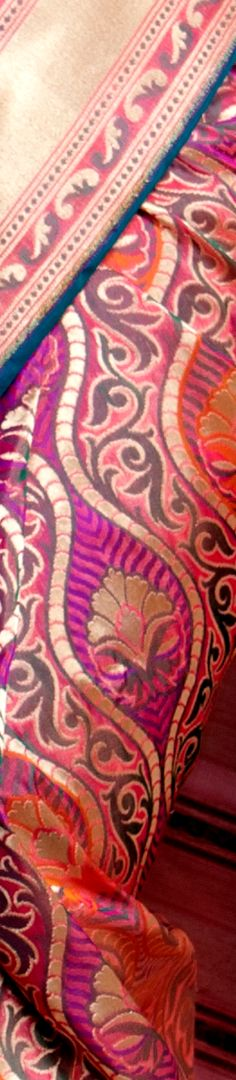 #Saree #India #Fashion #Silk #Banaras #Textiles #Art #Fabric