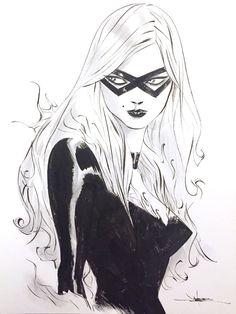Black Cat by Jae Lee *