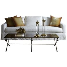 Avalon Sofa ($4,400) ❤ liked on Polyvore featuring home, furniture, sofas and interior
