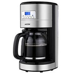 c8009114b2b Aicok Coffee Maker Coffee Maker Machine Stainless Steel Coffee Maker  Organic Coffee Maker Coffee Maker Kit Programmable Coffee Maker with Timer Coffee  Maker ...