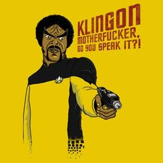 Star Trek Klingon version of Pulp Fiction