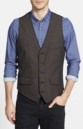 Jeremiah 'Mumford' Herringbone Vest