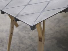 dominik weber + kevin rubin: concrete board table #Details