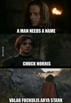 Valar F**kulis indeed