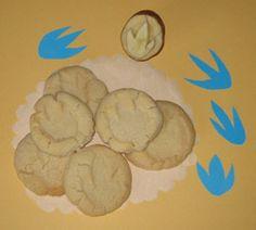 Dinosaur Activities, Dinosaur Footprint Cookies