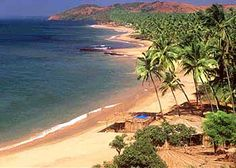 Anjuna Beach Goa, India