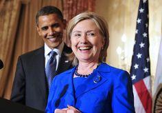 US President Barack Obama endorses Hillary Clinton for president (ANSA)