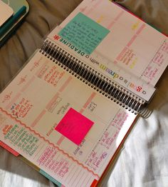 Love the way she organizes her planner. Oh For The Love Of Learning: Erin Condren Life Planner