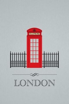 """London+Phone+Booth""+by+Luis+Infante,+Seattle+//+The+design+features+a+fun+mix+between+Architecture+and+Graphic+Design.+A+whimsical+take+on+the+city+of+London.+The+red+telephone+booth+is+a+landmark+of+London.+//+Imagekind.com+--+Buy+stunning+fine+art+prints,+framed+prints+and+canvas+prints+directly+from+independent+working+artists+and+photographers."