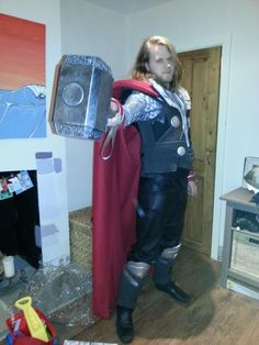 How to make thor's armor out of foam. Might need later.