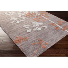 Hand-tufted Alicante Transitional Floral Area Rug (2' x 3')