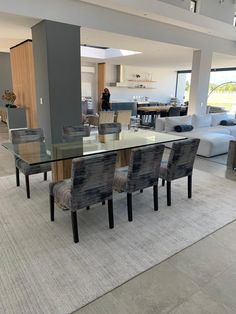 home - Marga Interiors Beautiful Dining Rooms, Conference Room, Dining Table, Interiors, Furniture, Home Decor, Decoration Home, Room Decor, Dinner Table