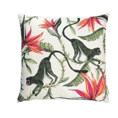 Monkey paradise cushion