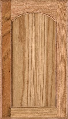 Laurel Cabinet Door Style - Traditional Cabinetry - HomecrestCabinetry.com (arch, oak wood, light stain)