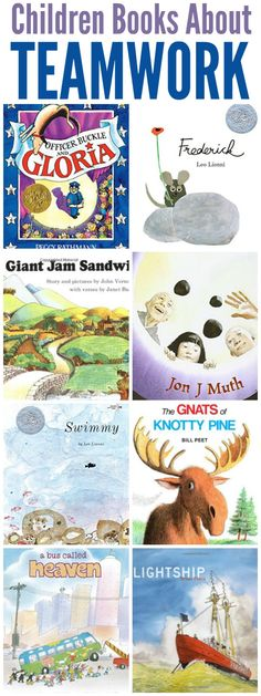 Childrens Books about Teamwork and Cooperation + Teamwork Unit Study Team Building Activities, Book Activities, Teamwork Activities, Best Children Books, Childrens Books, Fun Learning, Teaching Kids, Evolution, Education Humor