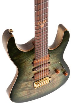 Suhr 2016 Collection Waterfall Burl Maple Modern