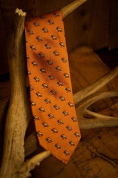 Elk Necktie (Sunrise Orange)  Discount code: BJTRADINGUSU