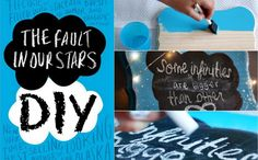 The Fault In Our Stars: DIY Room Decor!