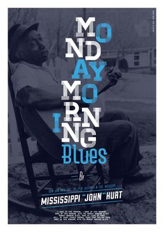 Monday Morning Blues by William Boulay, via Behance