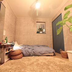 ローベッドスタイル/IKEA/無印良品/ニトリ/男前/ローベッド…などのインテリア実例 - 2016-05-11 16:08:28 | RoomClip(ルームクリップ)