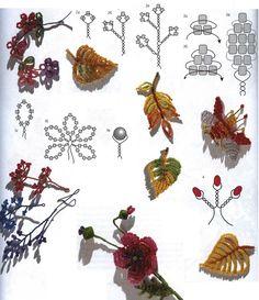 Низание на проволоку / Основы бисероплетения, Цветы / Biserok.org